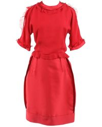 Lanvin Red Polyester