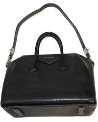 Givenchy Bolso Antigona de Cuero - Negro