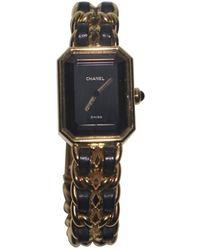 Chanel Reloj en chapado en oro dorado Première - Metálico
