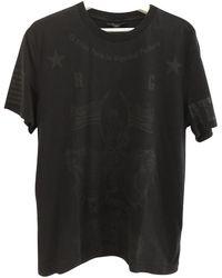 Givenchy Black Cotton T-shirt