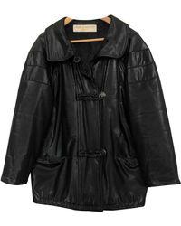 Nina Ricci Trench Coat - Black