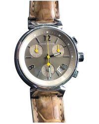Louis Vuitton Tambour Chronographe Uhren - Braun