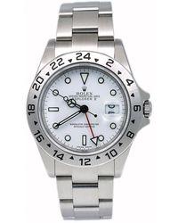 Rolex Explorer Ii 42mm White Steel Watch