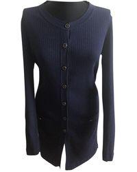 Chanel Pullover Baumwolle Marine - Blau