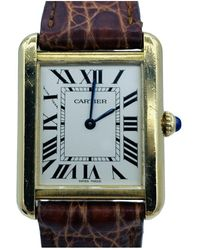 Cartier Tank Solo - Yellow Gold Watches - Multicolour