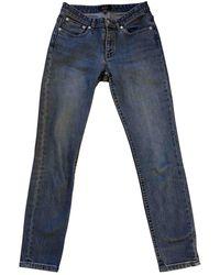 A.P.C. Jean Etroit Court Blue Denim - Jeans Jeans