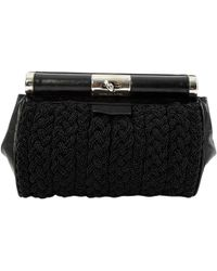 Dries Van Noten - Pre-owned Leather Clutch Bag - Lyst