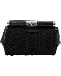 Dries Van Noten - Black Leather Clutch Bag - Lyst