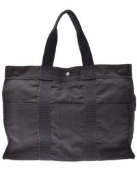 Hermès Herline Cloth Bag - Gray