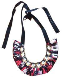 Marni - Multicolour Metal Long Necklaces - Lyst