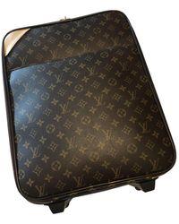 Louis Vuitton Bolsos en lona marrón Pegase