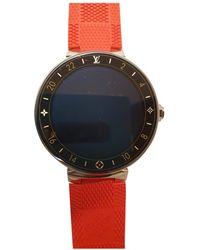 Louis Vuitton Tambour Horizon Uhren - Rot