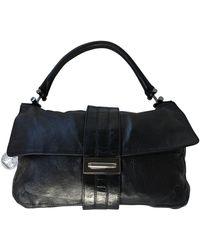 Lanvin Leather Handbag - Black