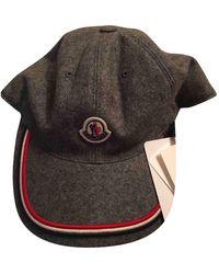 Moncler Wolle Hüte mützen - Grau