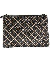 By Malene Birger Leather Clutch Bag - Multicolor