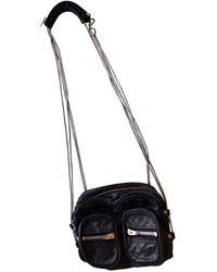 Alexander Wang Brenda Leather Crossbody Bag - Black