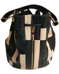 Elizabeth and James Leather Handbag - Multicolor