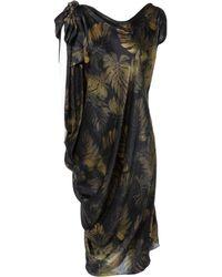 Lanvin Black Silk