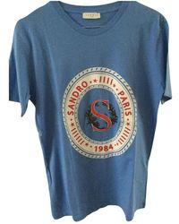 Sandro SS19 T-shirt - Blau