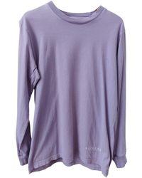 Supreme - Purple Cotton - Lyst