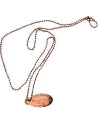 Tiffany & Co. Collar en plata plateado Return to Tiffany - Multicolor