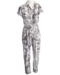 Maje - Multicolour Viscose Jumpsuits - Lyst