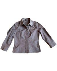 Louis Vuitton Brown Cotton Top