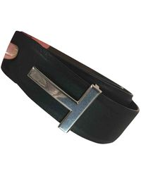 Tom Ford Leather Belt - Multicolour