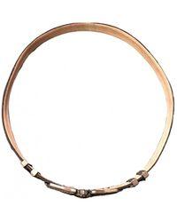 Balmain Leather Belt - Brown