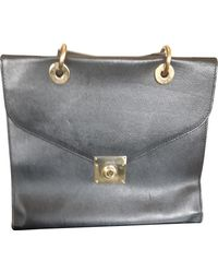 Jil Sander Leather Handbag - Black