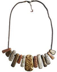 Oscar de la Renta Metal Necklaces - Multicolour