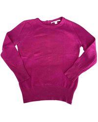 Diane von Furstenberg Pink Wool Knitwear