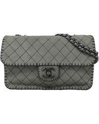 Chanel Borsa Timeless/Classique - Grigio