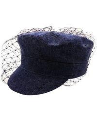 Dior Blue Cotton Hats