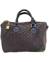 Louis Vuitton Speedy Bandoulière Leder Handtaschen - Mehrfarbig