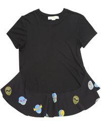 Stella McCartney Camisa en algodón negro