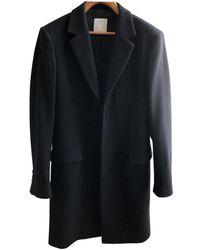 Sandro Fw19 Wool Coat - Black