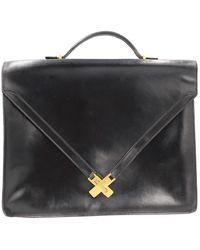 Hermès Kelly Leather Satchel - Black