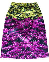 Mary Katrantzou Multicolor Silk Skirt