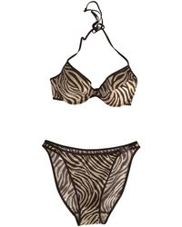 Dior - Brown Cotton - Elasthane Swimwear - Lyst