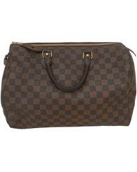 Louis Vuitton - Speedy Leinen Handtaschen - Lyst