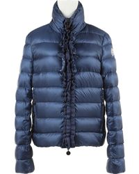Blue Synthetic Jacket