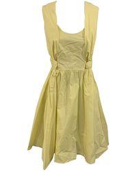 Carven Mid-length Dress - Yellow