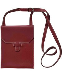 Hermès Leather Bag - Red
