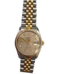 Rolex Datejust 36mm Uhren - Mettallic