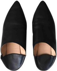Acne Studios - Pre-owned Leather Flats - Lyst