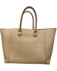 Victoria Beckham Liberty Leather Bag - White