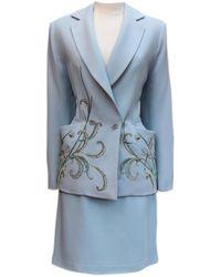 Dior Giacca Blu