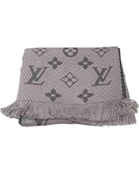 Louis Vuitton Logomania Grey Wool