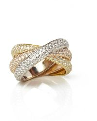 Cartier Trinity Gelbgold Ringe